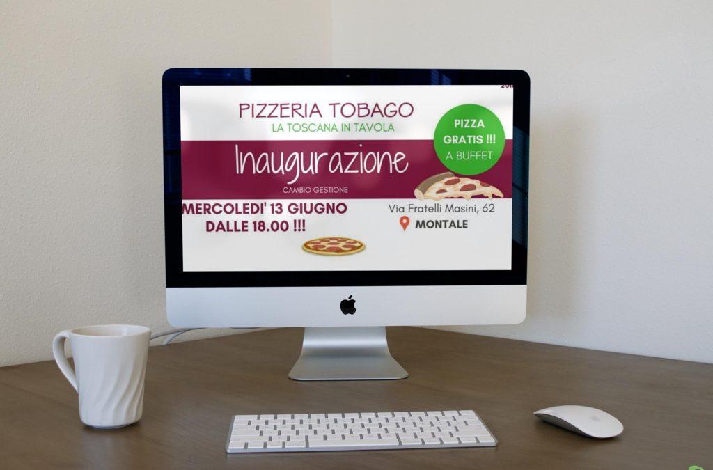 Presenza web Pizzeria Tobago