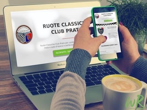 Sito Associazione Ruote Classiche Club Prato