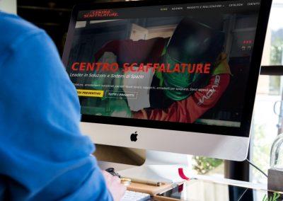 Sviluppo sito Centro Scaffalature