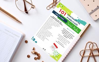 101 Idee post Social: esempi post da pubblicare sui social network